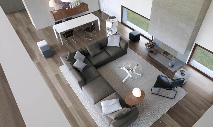 Divano pasha non solo mobili - Divano al centro della stanza ...