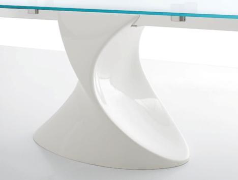 tavolo shanghai,tavolo,tavoli moderdi,tavolo in cristallo,tavolo vetro,tonin casa,tonin