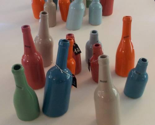 bottiglie ceramica, bottiglie serax, bottiglie ubriache, bottiglie regalo