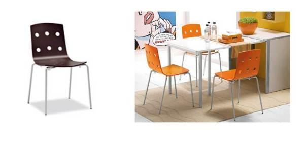 Le sedie da cucina sono colorate divertenti pratiche e - Sedie da cucina calligaris ...