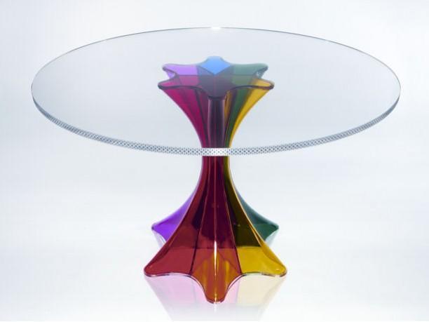 Calligaris e kartell presentano al salone del mobile 2009 for Tavolo kartell rotondo
