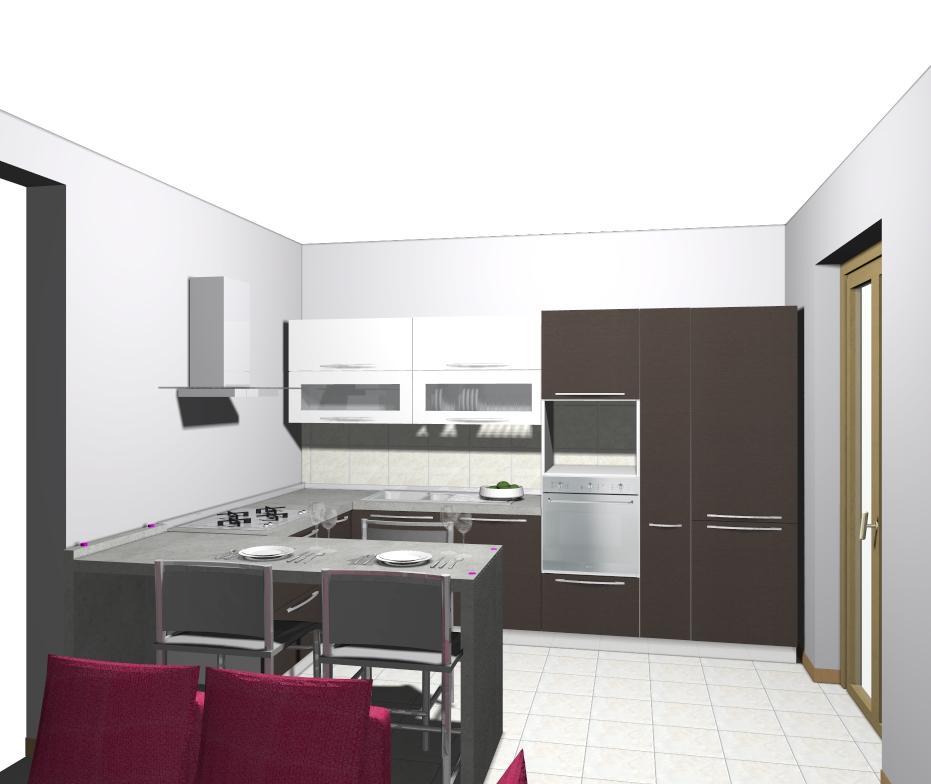Veneta cucine i costi di una composizione del modello gretha start time senza maniglia - Veneta cucine prezzi ...