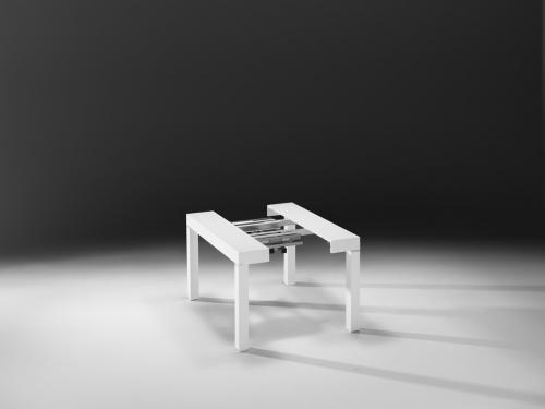 riflessi,p300,tavolo consolle,domus arredi,lissone,tavolo,consolle
