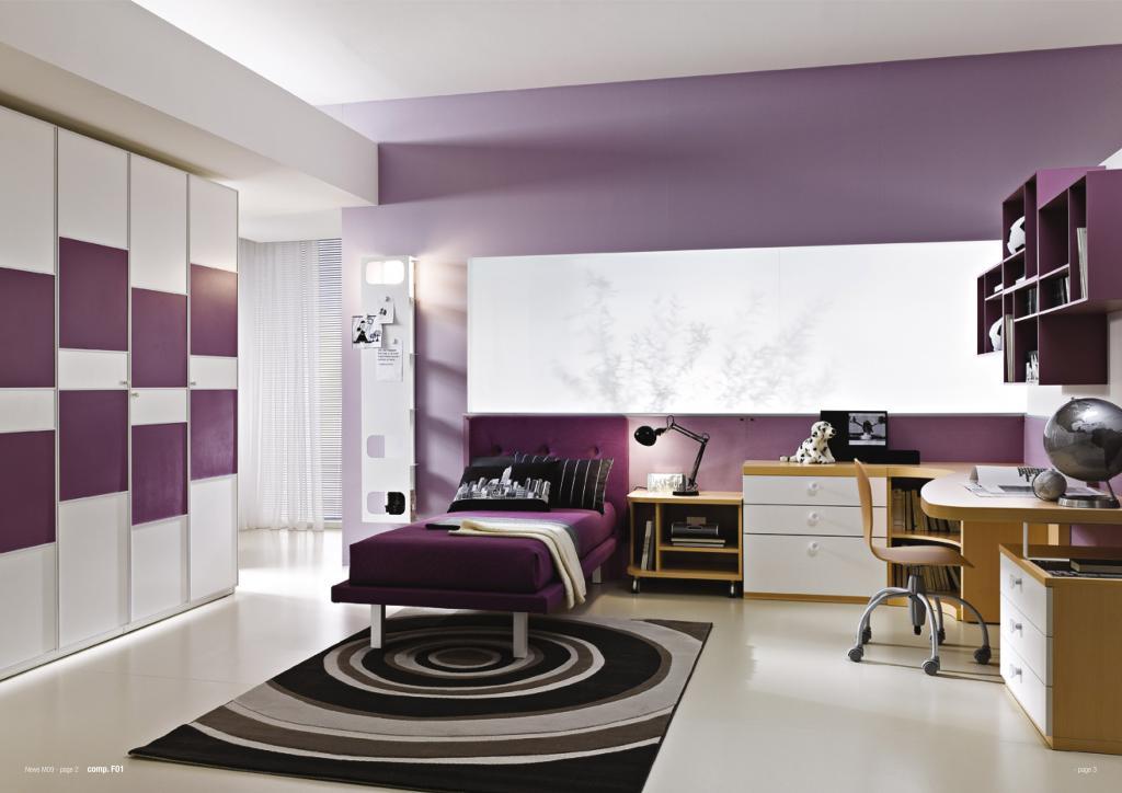 Con milanese le camerette si vestono di nuovi colori for Colori pareti camerette ragazzi
