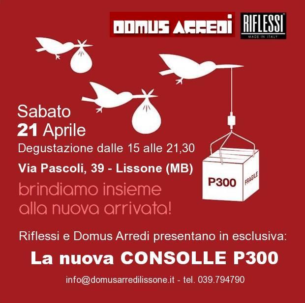 Consolle p300 non solo mobili for Domus arredi lissone