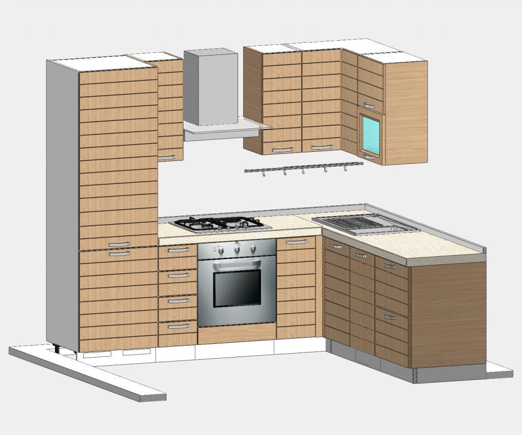 Forum di progettiamoinsieme richiesta vostro parere su - Composizione cucina ad angolo ...