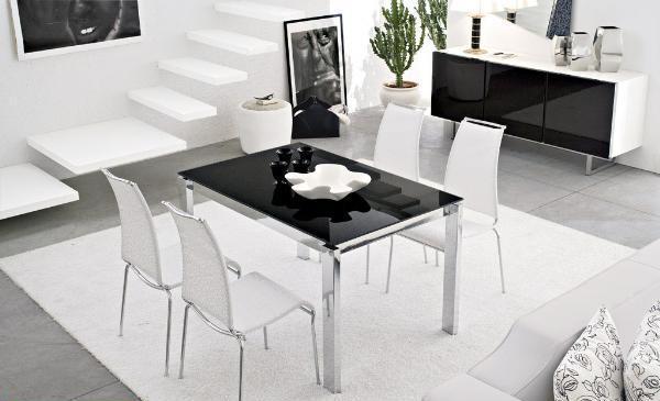 Tavolo vetro non solo mobili for Tavolo vetro calligaris
