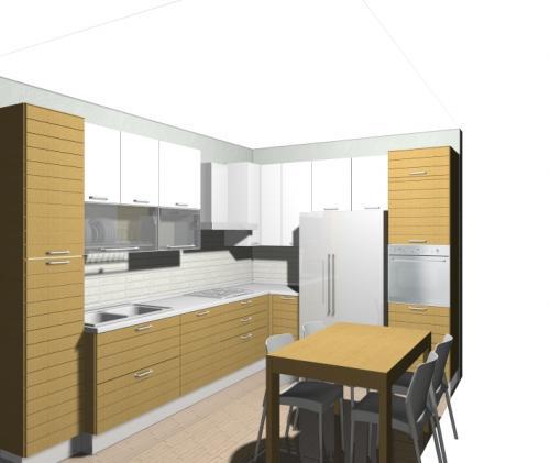 Disegno cucina archives non solo mobili cucina - Progetto cucina angolare ...