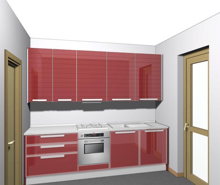 Cucine componibili cucine componibili 3 metri lineari - Cucine non componibili ...