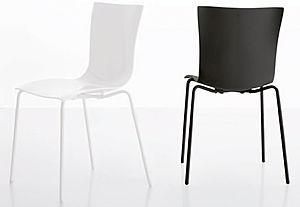 tonin,tonin casa,sedie,sedie impilabili,sedia struttura in metallo