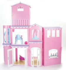 Kartell arreda la casa per i 50 anni di barbie non solo for Casa di barbie youtube