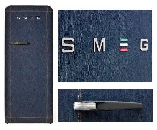 smeg. frigoriferi smeg,frigorifero smeg,fab28,frigorifero jeans,frigorifero denim,frigo jeans
