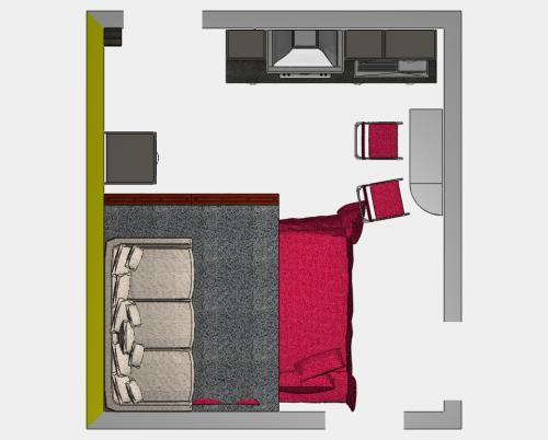 arredare un monolocale, arredamento, monolocale, spazi piccoli, casa piccola