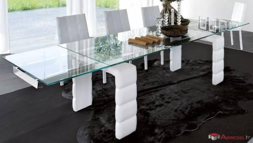 Da Tonin Casa: tavolo LOUVRE, il tavolo con allunghe adatto ad ...