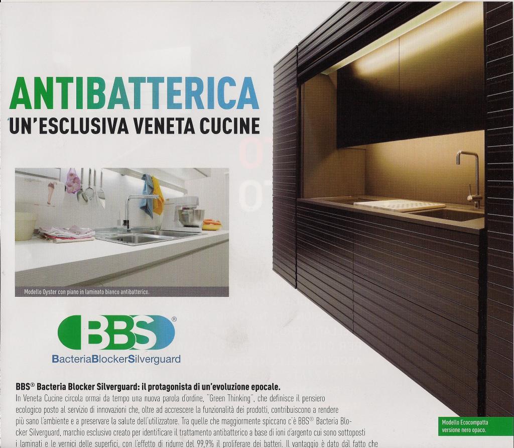 Silverguard Applicato Ad ECOCOMPATTA Fa Della Nuova Cucina Di Veneta  #198B35 1024 892 Veneta Cucine E Forma 2000