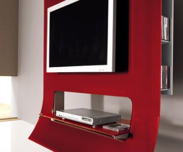 Parete Porta Tv. Smart Living By Ozzio Design Parete Attrezzata ...