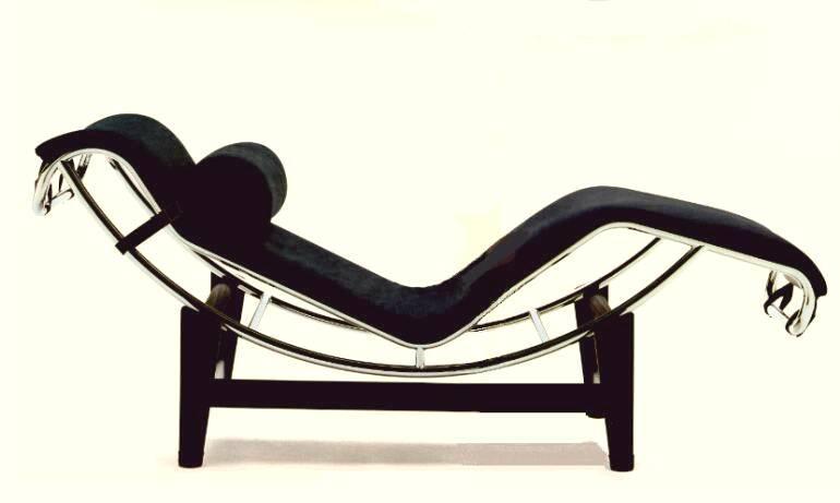 La chaise longue a reglage continu un capolavoro di le for Le corbusier mobili