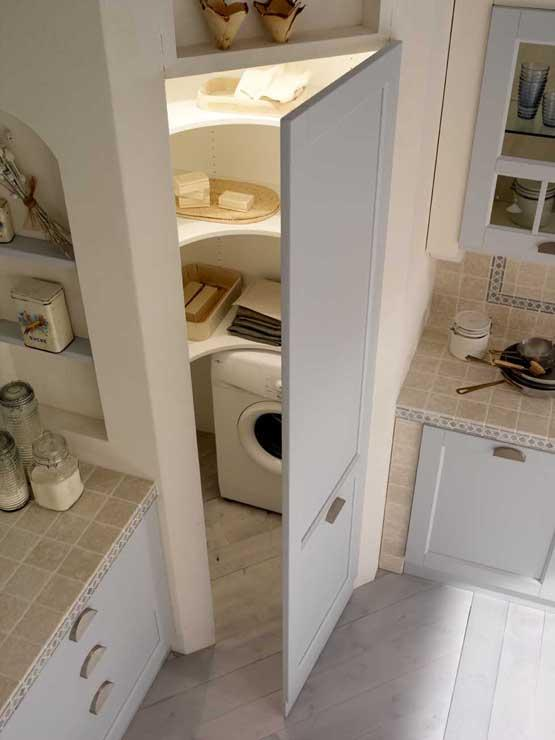 Sfruttare gli angoli della cucina si puo ecco le - Mobili da ripostiglio ...
