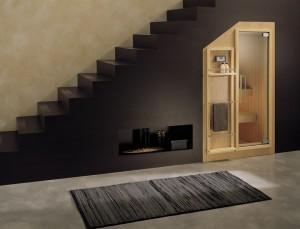 Sotto scala o soffitti inclinati da arredare con armadi librerie e fantasia recuperare spazi - Arredare sottoscala soggiorno ...