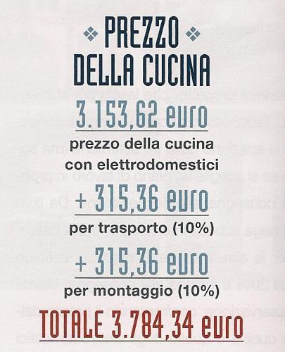cucina, cucine, prezzi cucina, costo cucina, veneta cucine, ikea, mercatone uno, mondo convenienza