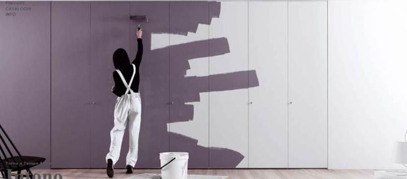 Novamobili l armadio che puoi colorare tinteggiare come - Colori muro camera da letto ...