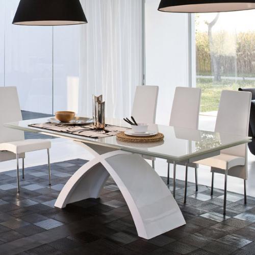 Tavolo cristallo non solo mobili for Tavoli allungabili cristallo