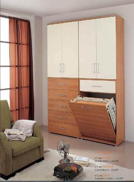 Casa piccola archives non solo mobili cucina soggiorno e camera - Soluzioni salvaspazio camera da letto ...