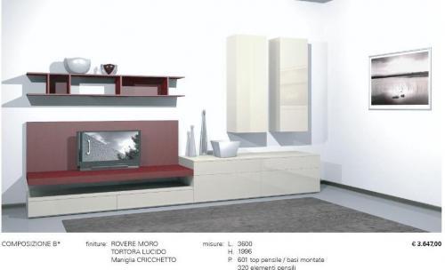 Jesse soggiorno regolo l arte del componibile non solo mobili - Jesse mobili prezzi ...