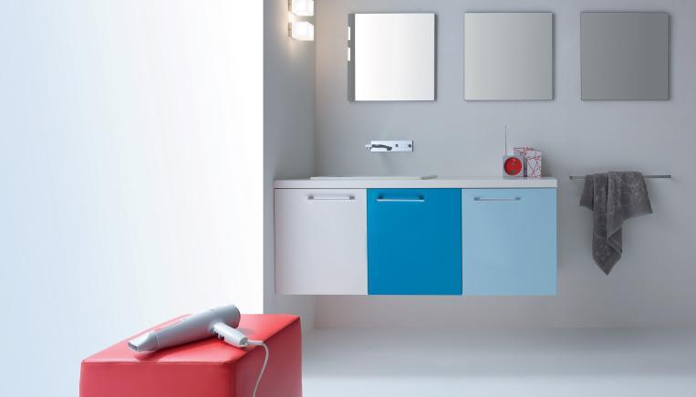 Elementi d 39 arredo e di design capienti per utilizzare al meglio lo spazio sotto il lavandino del - Mobili salvaspazio bagno ...