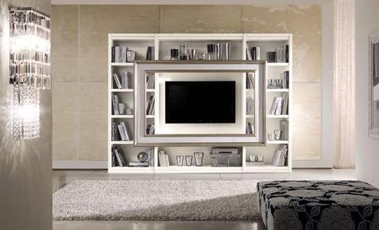 CORNICE PORTA TV INSERIBILE ANCHE IN LIBRERIA COMPONIBILE. BETA MOBILI