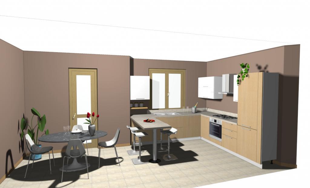 Ma quanto costa una cucina ethica di veneta cucine non solo mobili cucina soggiorno e camera for Quanto costa una cucina scavolini