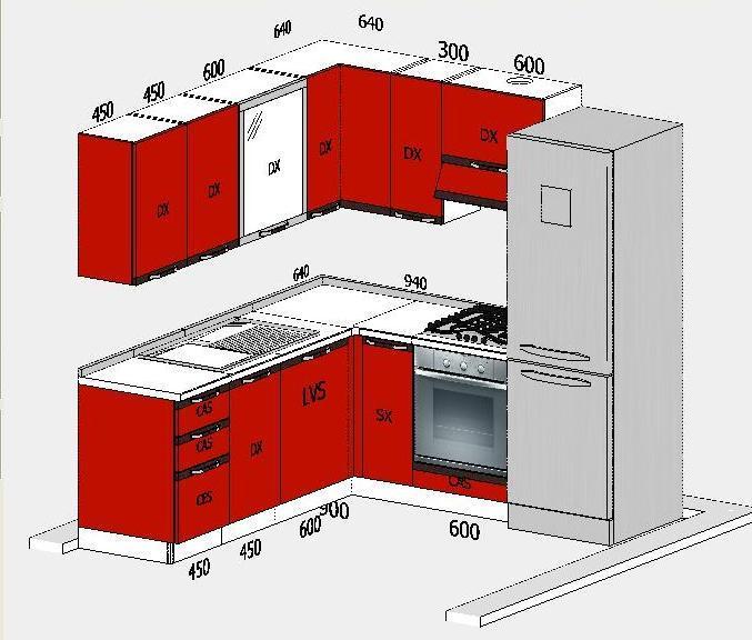 Cucine su misura non solo mobili - Mobili cucina misure ...