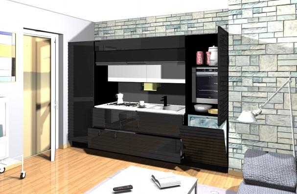ECOCOMPATTA .. la cucina che se vuoi scompare un progetto di ...