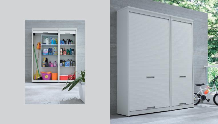Armadio contenitore da esterno spazio utilizzato al meglio non solo mobili - Contenitori per armadi ikea ...