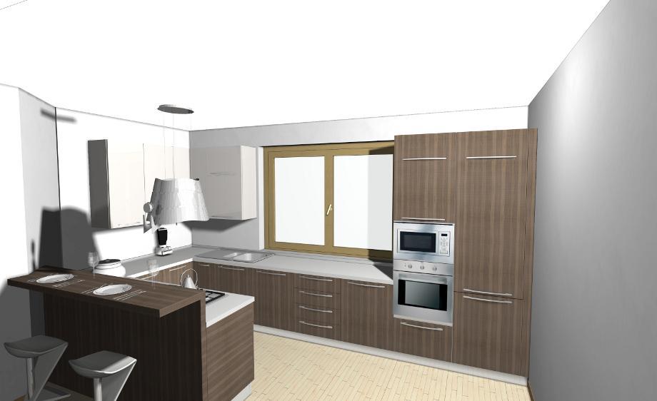 Veneta cucine come comporre una cucina con isola o - Comporre cucina ...
