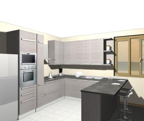 Penisola archives non solo mobili cucina soggiorno e for Piccole cucine con isola