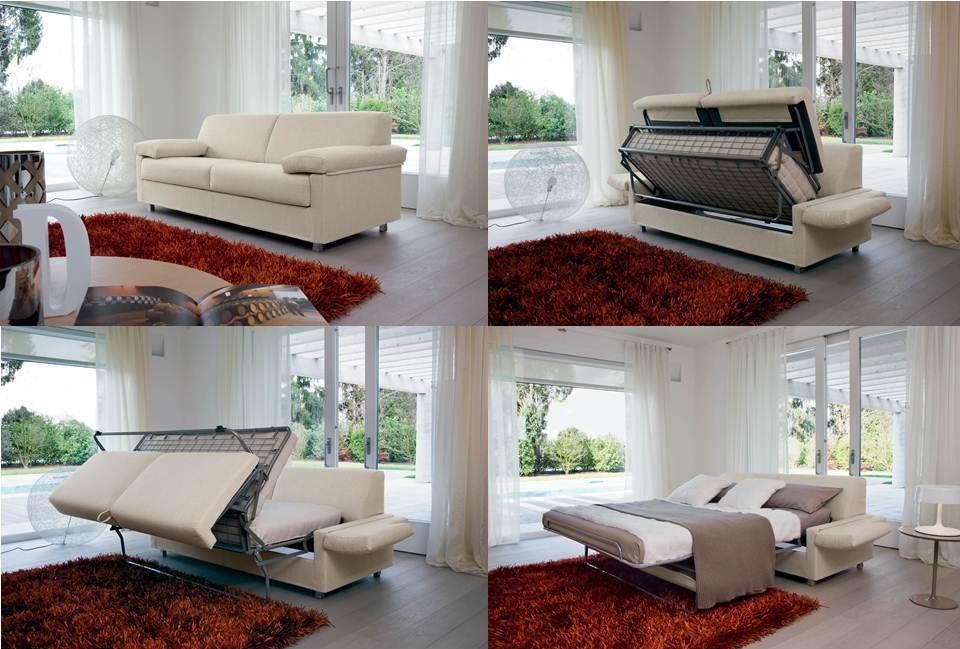 Mobili letto trasformabili girevoli parete attrezzata for Mobili trasformabili