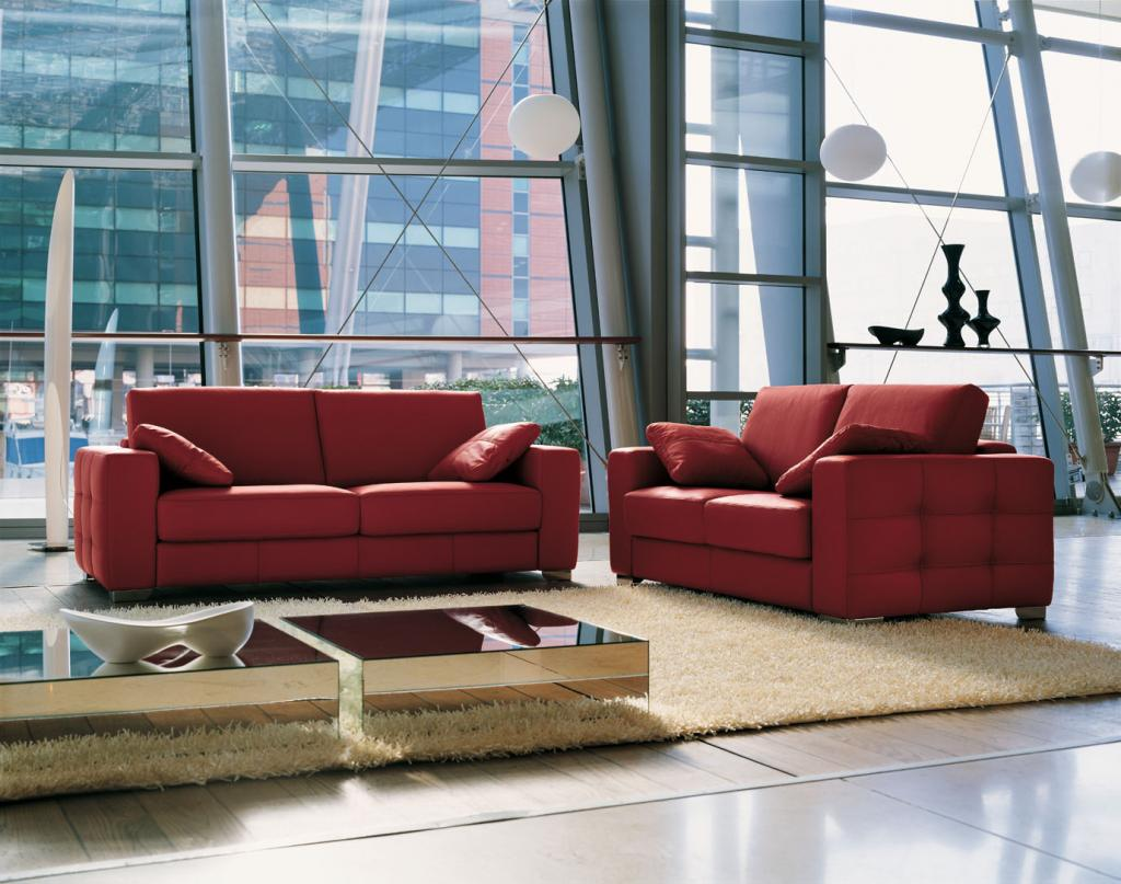 Da domus arredi puo vedere e provare i divani di rigo for Salotti divani