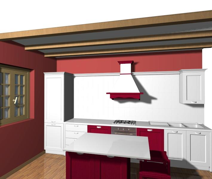 Veneta Cucine Modello California.Disegni Cucine Non Solo Mobili