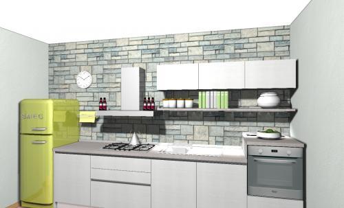 Arredamento completo archives non solo mobili cucina - Cucine con frigo esterno ...