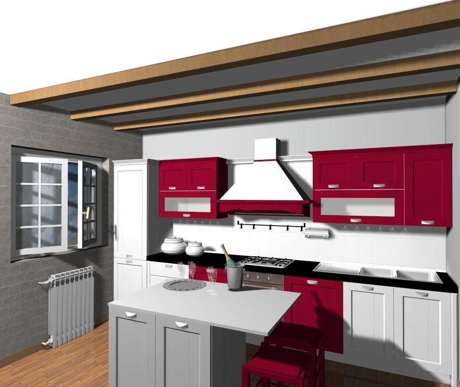 Veneta cucine come comporre una cucina con isola o - Isole per cucine prezzi ...