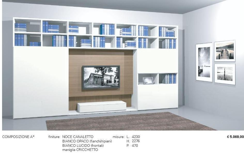 Jesse soggiorno regolo l eleganza di una libreria non solo mobili - Jesse mobili prezzi ...