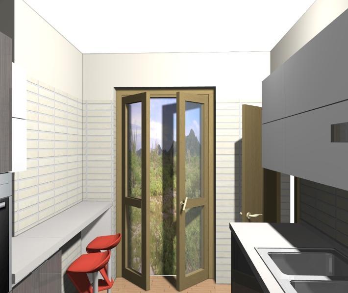 Idee arredo cucina lunga e stretta ecco la soluzione for Arredare cucina piccola e stretta