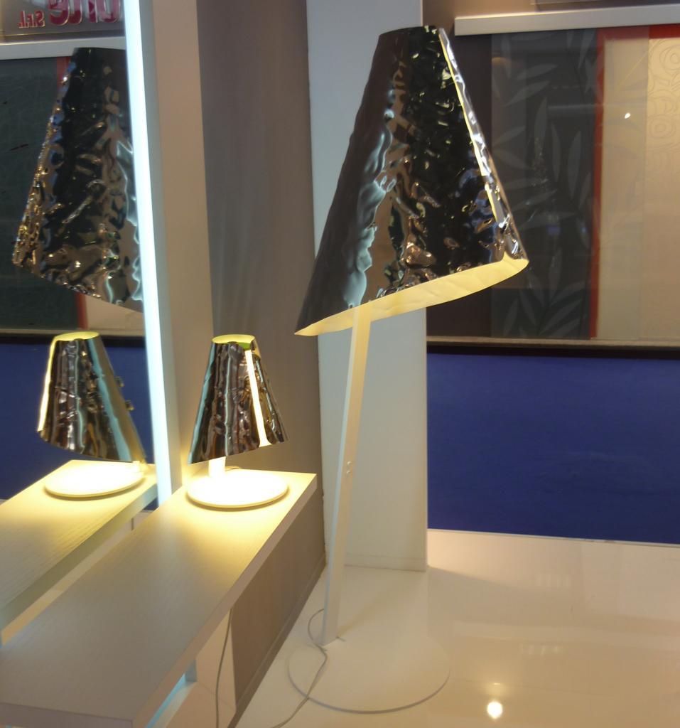 Da riflessi una nuova idea lampada in alluminio for Repliche lampade design