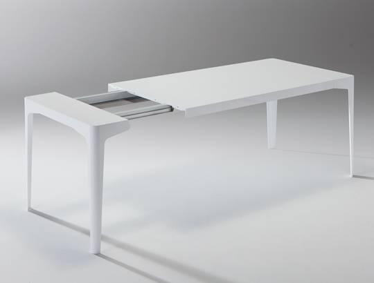 Corner il tavolo allungabile di riflessi non solo - Table cuisine escamotable tiroir ...