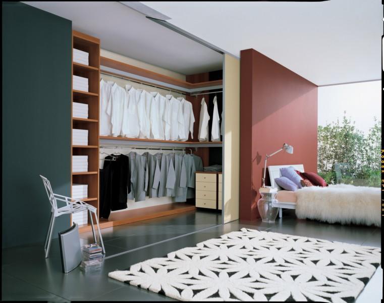 Arredare non solo mobili - Camera da letto con cabina armadio e bagno ...