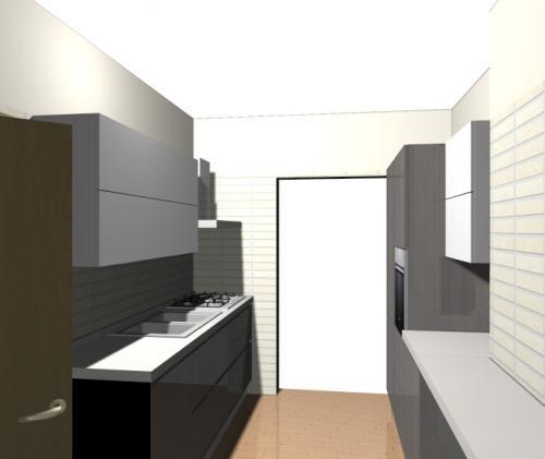 Cucina lunga e stretta idee per arredarla e sfruttare for Arredare cucina piccola e stretta