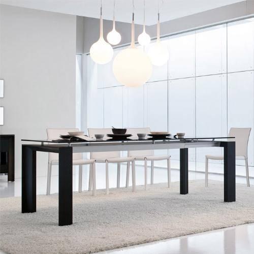 Da tonin casa tavolo soho allungabile per trasformare e for Mobili per la sala