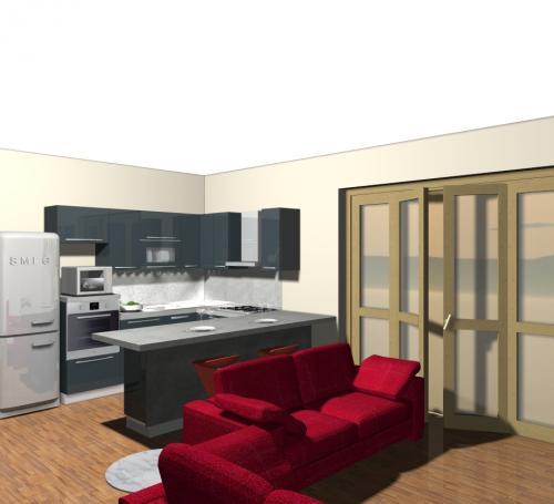 Fab 28 il frigorifero in jeans denim di smeg non solo mobili - Cucine senza frigo ...