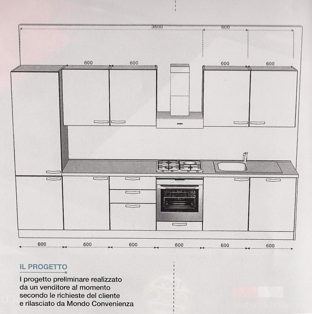 Altezza Cucina Ikea prezzi di cucine a confronto .. ikea, mercatone uno, mondo